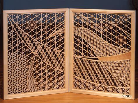kumiko art folding screen gallery  ino inomata art