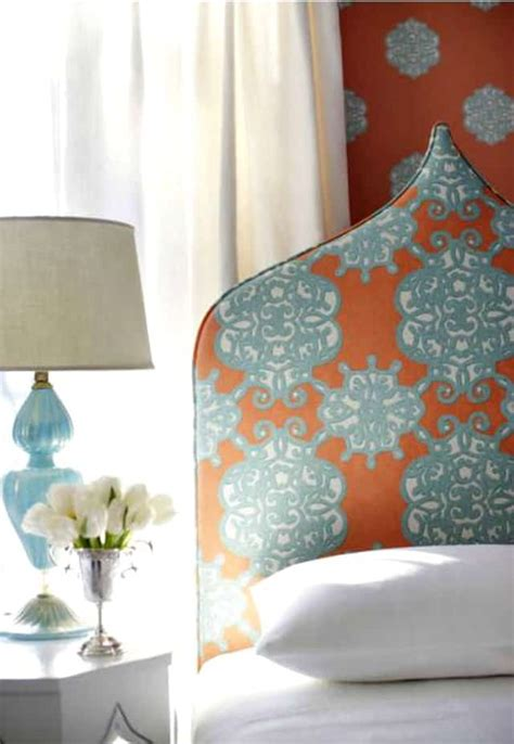 friday coral  turquoise decor worthing court
