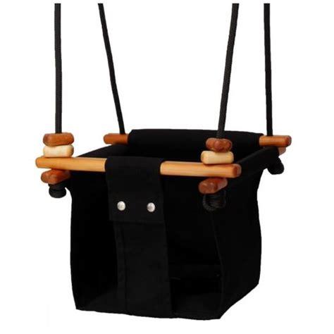 black baby swing solvej baby toddler swing coral black belly beyond