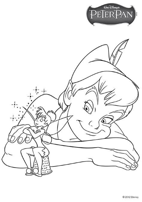 Coloriage Disney Peter Pan Clochette Coloriage Walt Disney A Imprimer Gratuitement L