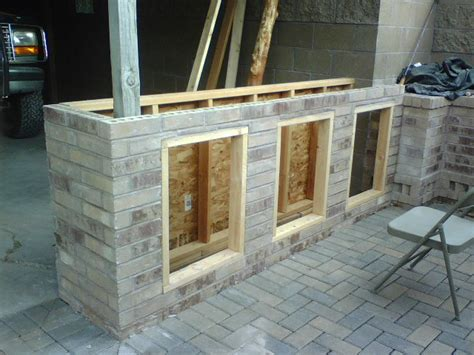 build a backyard bar a patio bar project