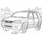 Free Ford Coloring Pages To Print For Kids Download And Color