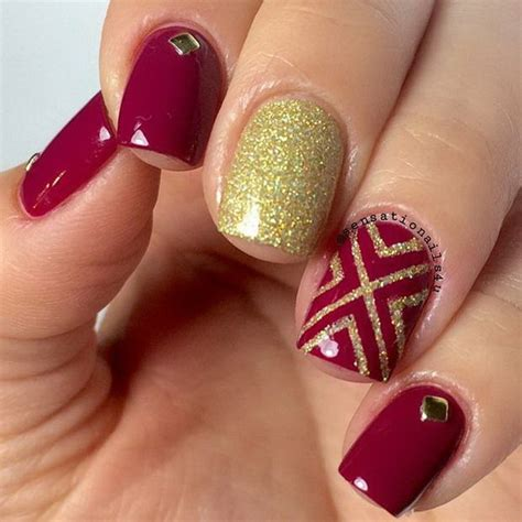 nail designs for nails at home without