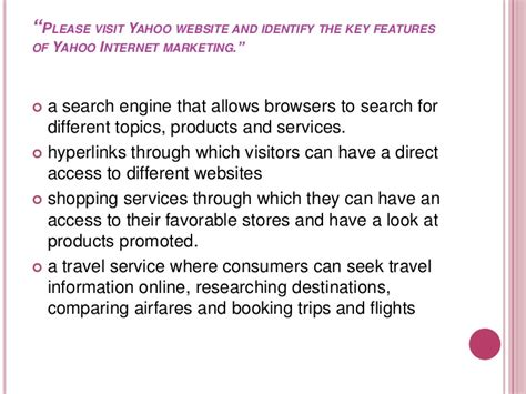 Study On Search Engines Study Of Yahoo Search Engine