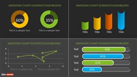 dashboard powerpoint template free top 10 charts powerpoint template slidehunter free