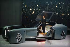 Rolls Royce Future Models Rolls Royce Vision Next 100 Concept With Silk Sofas