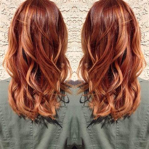 blonde and copper hairstyles 25 best ideas about medium red hair on pinterest red