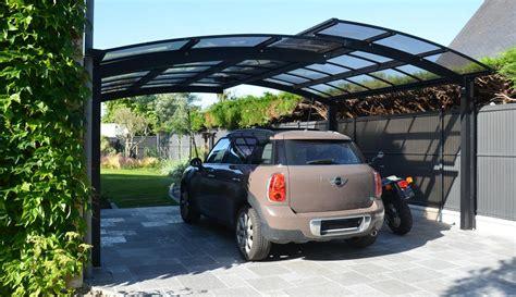 Garage Voiture Exterieur by Carport Ext 233 Rieur Pour Voiture Novoferm