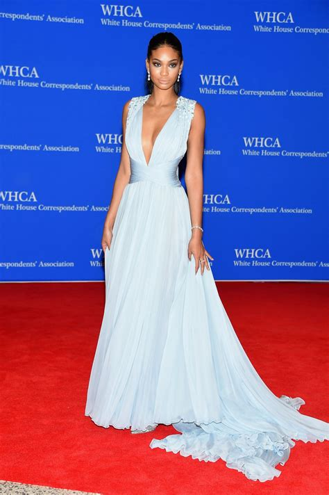 troian bellisario 2015 white house chanel iman at white house correspondents association
