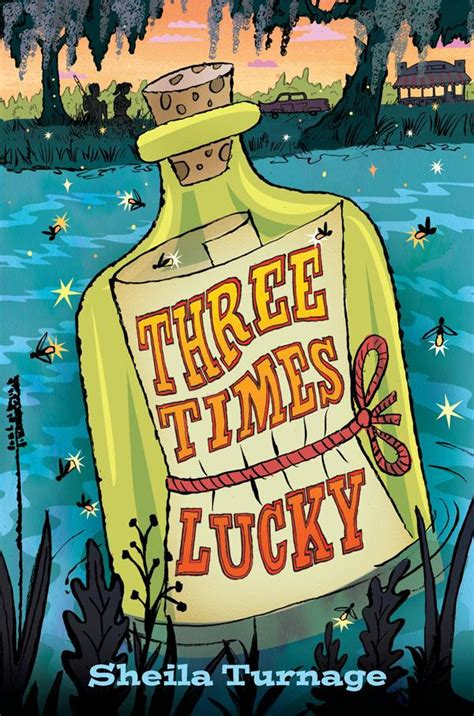 lucky books review of the day three times lucky by turnage