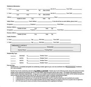 gym contract template 12 free word pdf documents