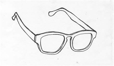 glasses template free coloring pages of sunglasses template