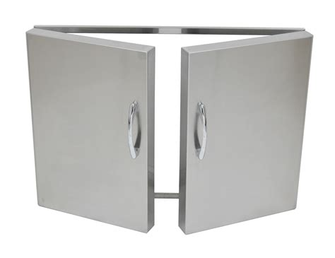 Stainless Steel Bbq Doors by Built In Additions Stainless Steel Doors