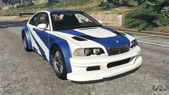 bmw m3 gtr e46 most wanted v1 3 for gta 5