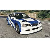 BMW M3 GTR E46 Most Wanted V13 For GTA 5