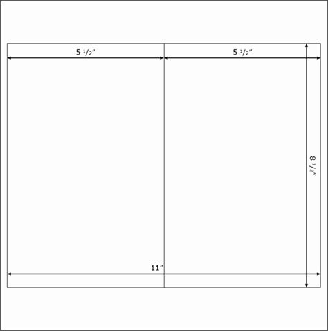 blank half fold card template microsoft word 6 half fold card template word sletemplatess