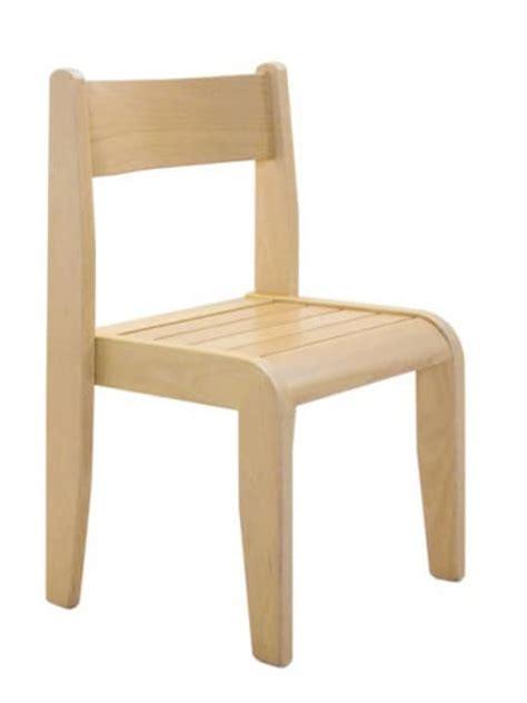 sedie bambini legno sedia impilabile per bambini in legno di faggio idfdesign