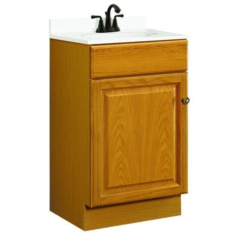 design house vanity cabinets design house 531970 claremont 18x16 one doors oak vanity