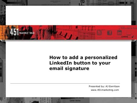 add or change your email signature on your blackberry how to add linkedin buttons to email