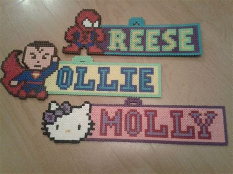 perler names perler hama door signs perler and pony