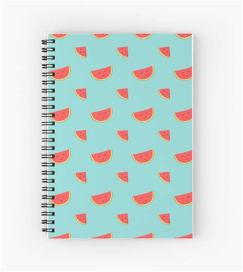 Be Happy Notebook happy watermelon notebook being