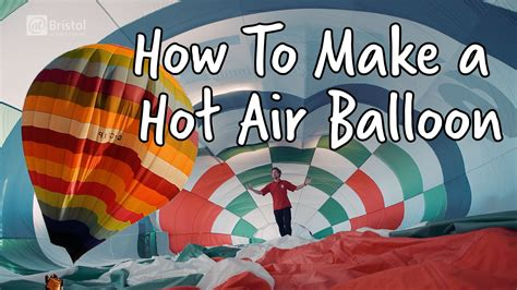 How To Make An Air Balloon Out Of Paper - how to make a air balloon do try this at home we