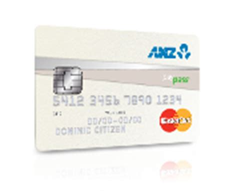 Credit Card Application Form Anz Chip Cards Anz