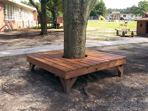 wrap around tree bench benches picnic tables photo gallery go out and play
