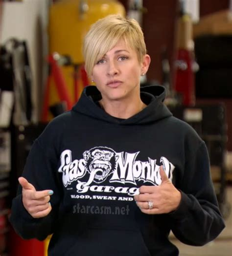 gas monkey garage characters who is christie brimberry fast n loud office manager