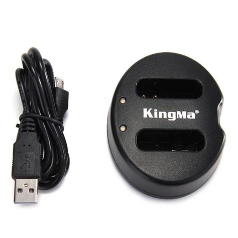 Kingma Dual Battery Charger For Coolpix A Nikon J1 J2 J3 S1 En El20 1 kingma bm015 nb12l battery charger for cannon g1x ii coolpix a