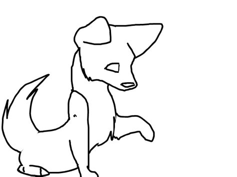puppy outline puppy outline slimber drawing and painting