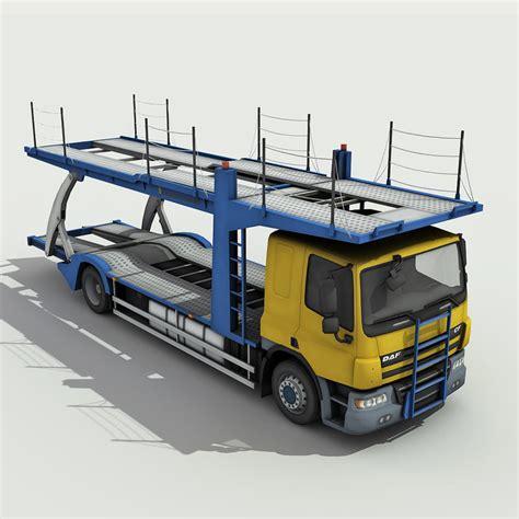 3d Model Car Carrier Truck