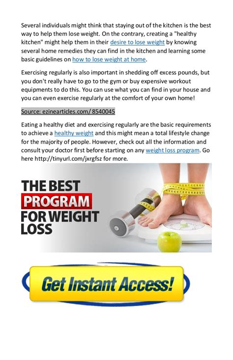 how to lose weight at home safe easy and fast way