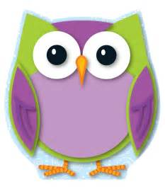 owl colors mini owl cut outs teachers bazaar