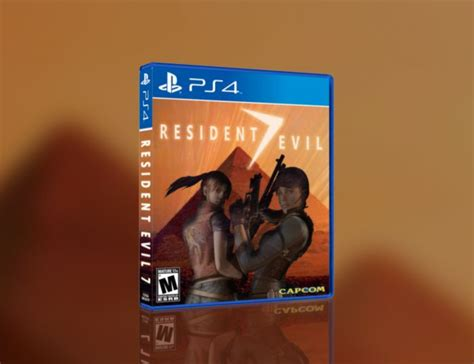 Ps4 Resident Evil 7 R2 resident evil 7 playstation 4 box cover by jengasoft