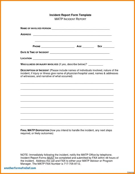 Non Injury Incident Report Template Askoverflow Non Injury Incident Report Template