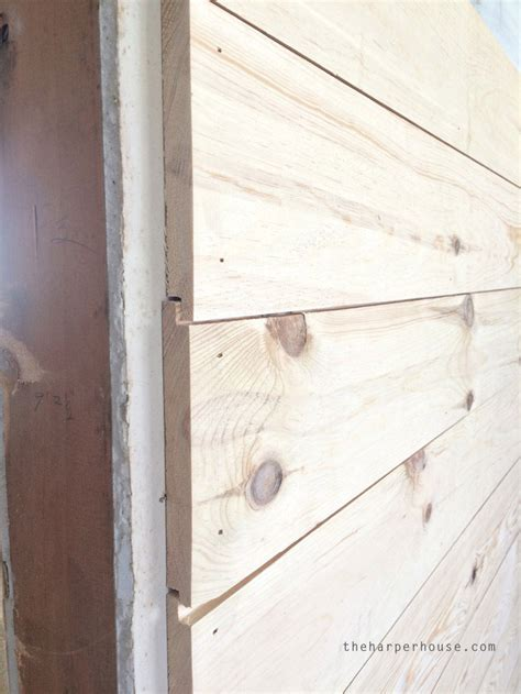 Shiplap Look Paneling Where To Buy Shiplap The House