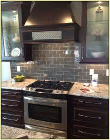 Home improvements refference gray subway tile kitchen backsplash