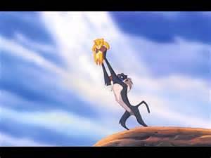 circle lion king
