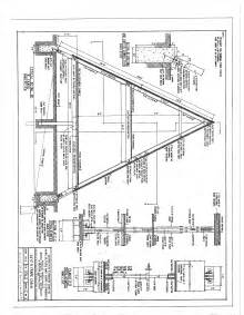 a frame building plans free a frame cabin plans blueprints construction documents