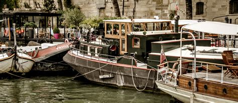 house boat france paris on a house boat european travel magazine