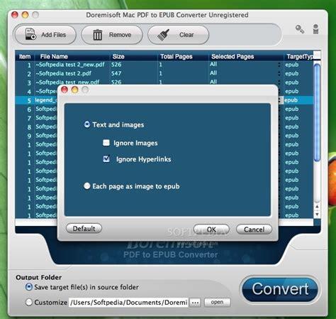 epub format mac reader doremisoft pdf to epub converter download mac