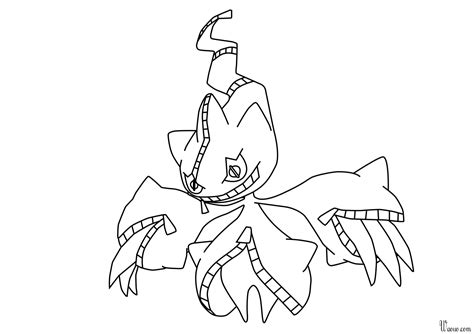Imprimer Coloriage Pokemon Noir Et Blanc L L L L L L L L L L
