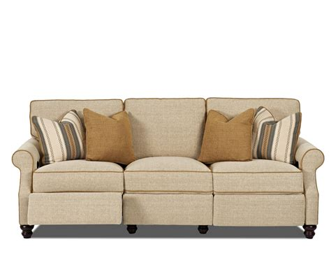 Traditional Reclining Sofa Trisha Yearwood Home Collection By Klaussner Tifton