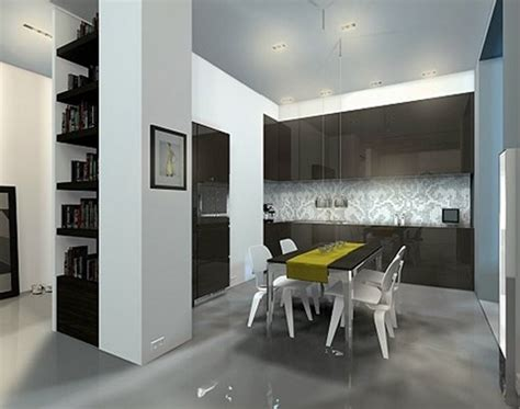Modern Minimalist Dining Room by Modern Minimalist Dining Room Design Beautiful Homes Design