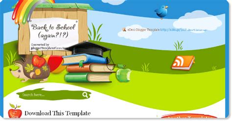 templates blogger school 15 best free custom blogger templates magazine artistic