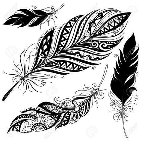 vecteur peerless d 233 coratif feather la conception tribal