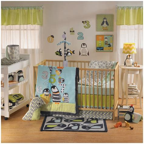 penguin crib bedding lolli living phinley crib bedding and accessories baby