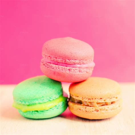 colorful macaroons sweet colorful macaroons food drink photos on creative