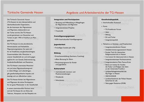 Bewerbung Fsj Jugendarbeit Tg Hessen Flyer Tg Hessen